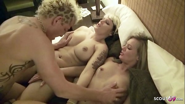 ECHTER DEUTSCHER AMATEUR FFM DREIER NACH PARTY IM HOTEL – GERMAN THREESOME