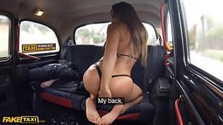 Fake Taxi Australian babe Aubrey Black rides cock