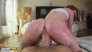 BANGBROS – Redhead PAWG Alaina Dawson Gets Her Tight 19yo Pussy Worked